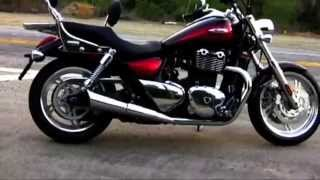 Triumph Thunderbird 1600 Shorty TOR Pipes Big Bore