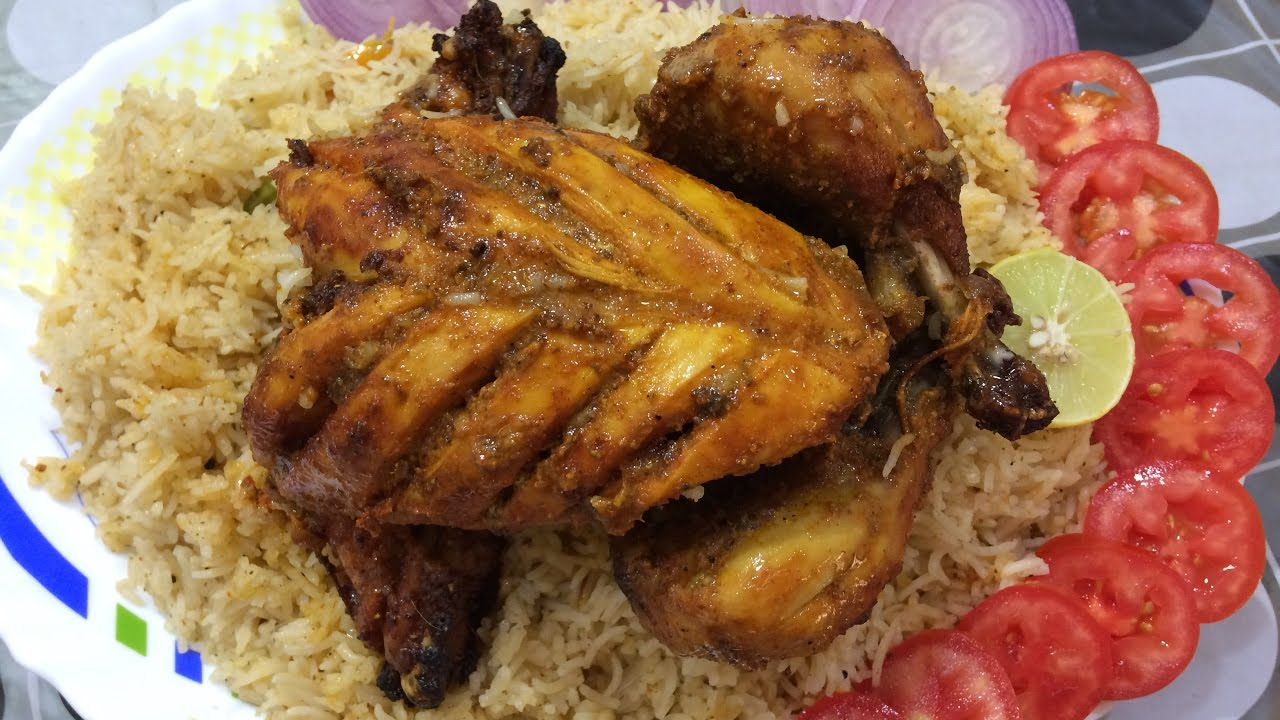 how to make chicken mandi without oven recipe english subtitles