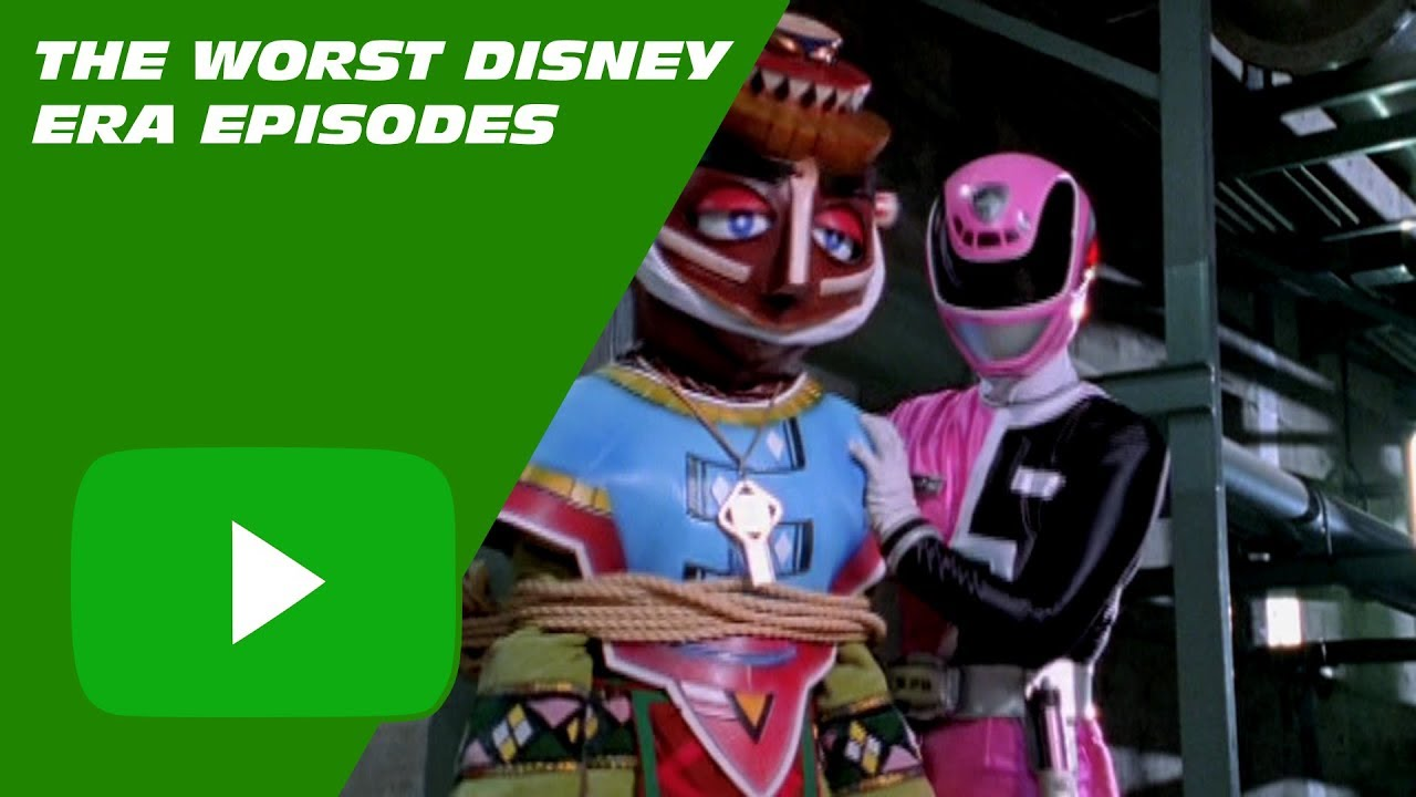 Top Ten #150 The Worst Power Rangers Disney Era Episodes