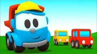 Leo der Lastwagen auf Deutsch: 5 Zeichentrickfilme für Kinder.