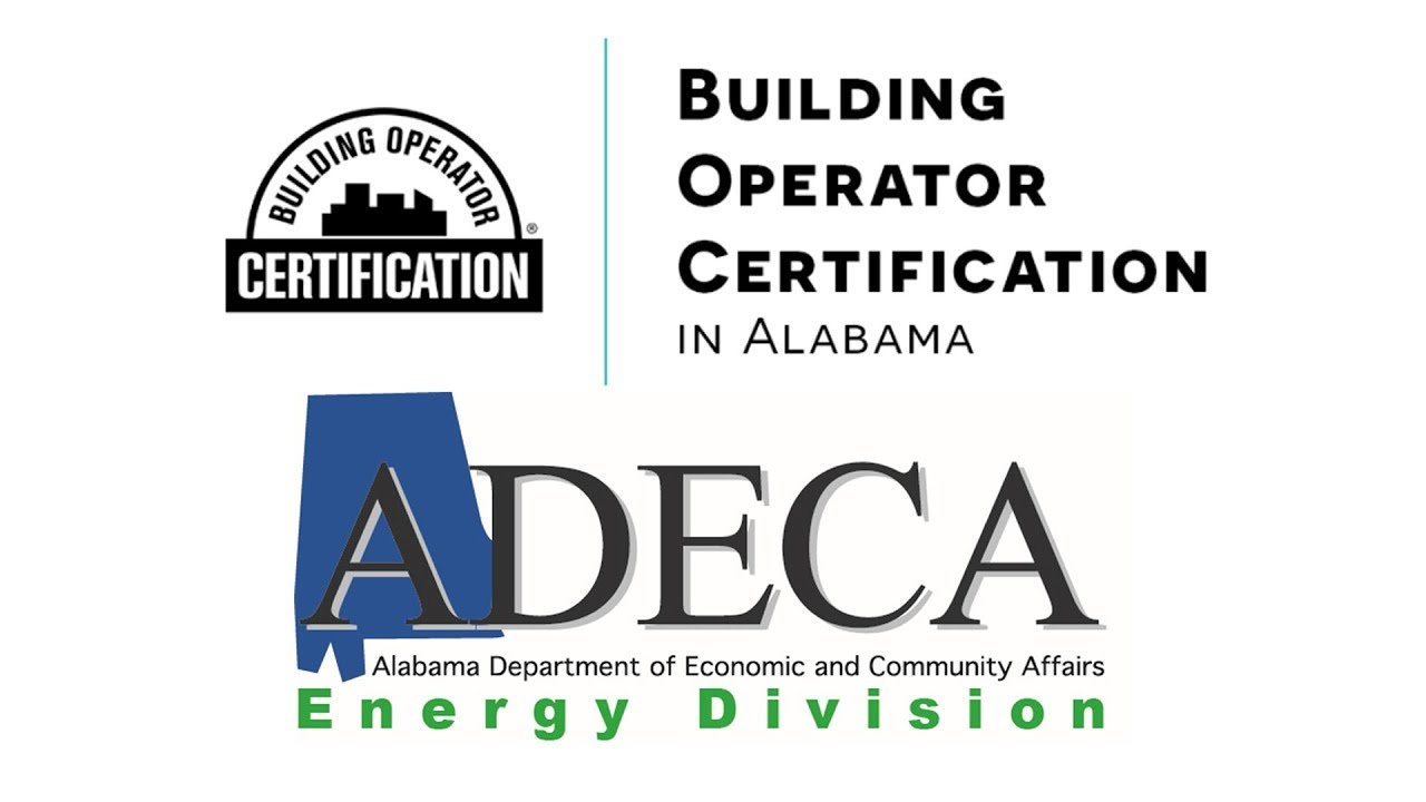 ADECA helps bring Building Operator Certification to Alabama - YouTube