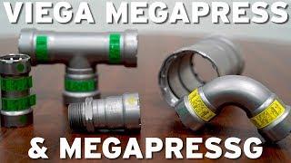 5//Each Carbon Steel Viega Megapressg Tee P1: 3//4, 25306