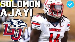 The Most Underrated LB in the Draft 🔥 Official Solomon Ajayi Liberty Highlights