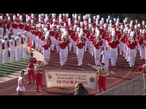 2016 Pasadena City College Tournament of Roses Herald Trumpets & Honor Band - 2016 Pasadena Bandfest
