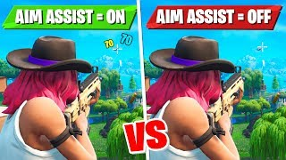 I Found A Way To Get Aim Assist On Keyboard & Mouse In Fortnite... (New Meta)