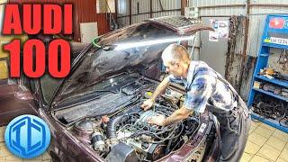 Не заводится после замены двигателя. Как разобраться в проводке Audi 100