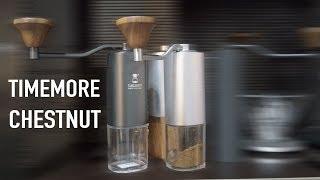 ручная жерновая кофемолка для дома - Timemore Chestnut G1 обзор и тест