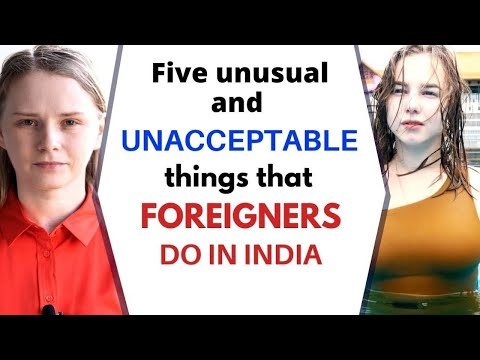 Five Most Horrible and Disgusting Things That Foreigners Do in India | Karolina Goswami