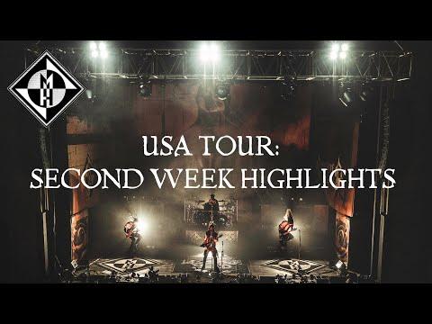 USA TOUR: SECOND WEEK HIGHLIGHTS