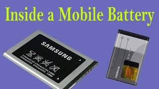 Inside a Mobile Battery || Samsung Battery || Nokia Battery || Iphone Battery by PK Expert