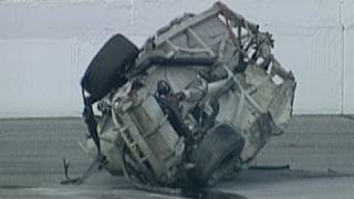 Geoff Bodine NASCAR Craftsman Truck Series Crash.  Offici... thumbnail
