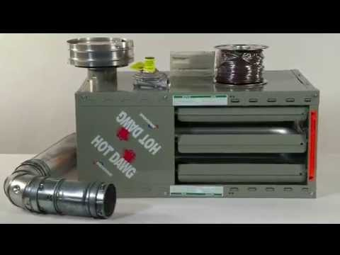 Reznor Garage Heater >> Hot Dawg Heater - YouTube