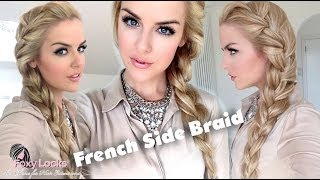One of Imogen Fox . Foxy Locks's most viewed videos: How To: Big French Side Braid