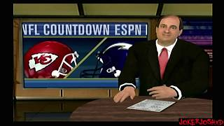 Week 17 | KC @ SD | ESPN NFL 2K5 Kansas City Chiefs Franchise Mode