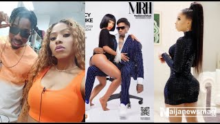 BBNaija39s Mercy sits on Ikes lap as they replicate Kylie and Travis loved-up pose