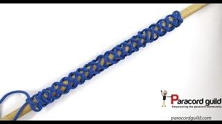 3 bight base knot for turk's head bracelets