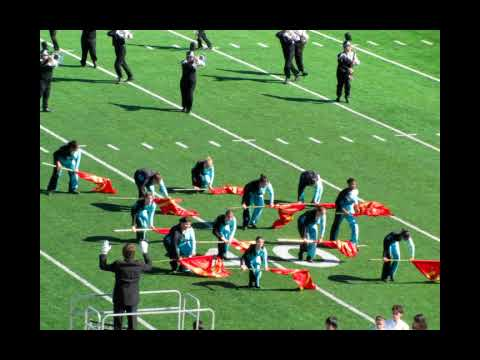 Calallen Marching Band  USSBA Championships 2009