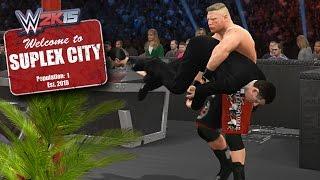 Michael Cole Enters Suplex City (WWE 2K15 PC Mods)