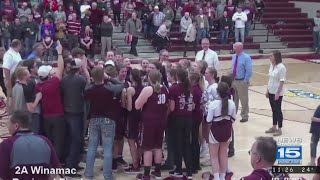 Central Noble beats Hammond Noll in girls basketball on 2/10/1…