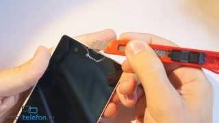 Снимаем заводские пленки с Sony Xperia Z, избавляемся от царапин(, 2013-08-16T16:56:07.000Z)
