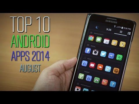 Top 10 Best Apps For Android 2014 (August)