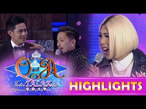 It's Showtime Miss Q & A: Vice Ganda expresses ill feelings towards Kuya Escort Ion