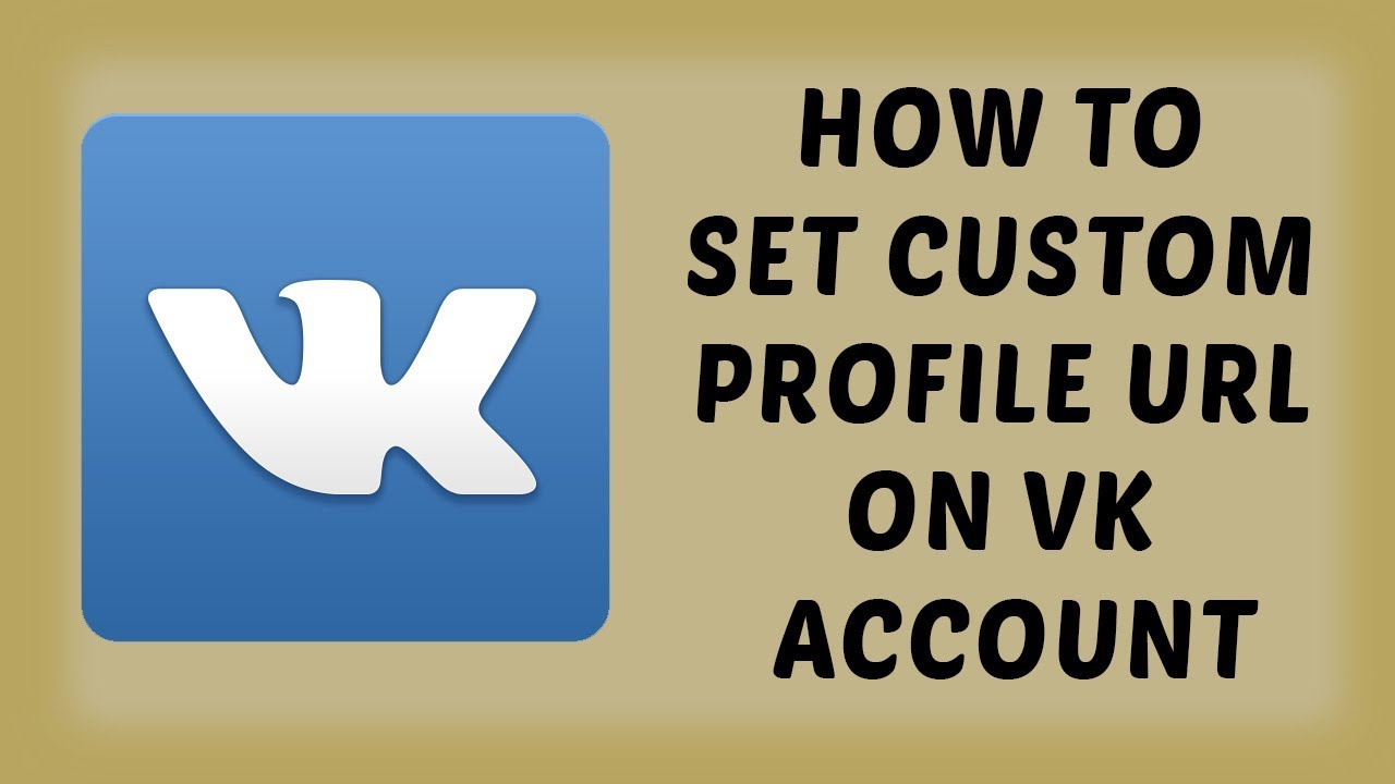 How To Set Custom Profile URL on VK Account | Hindi Tutorial Videos