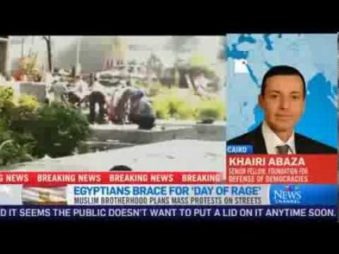Khairi Abaza On The Growing Unrest In Egypt Ctv News Youtube