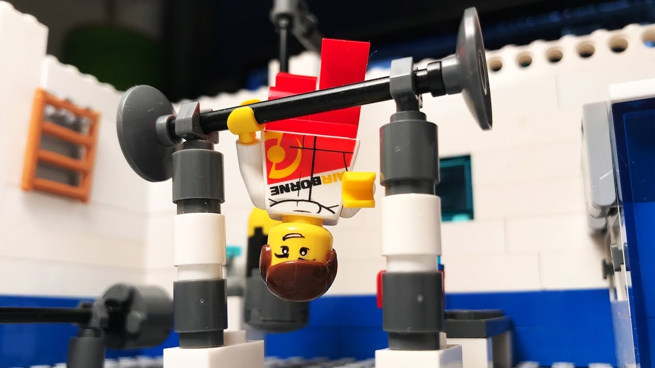 Lego Fail Funny Gym - The Best Stop Motion Movie