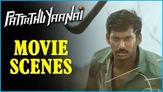 Pattathu Yaanai - Tamil Movie - Climax | Vishal | Santhanam | Thaman