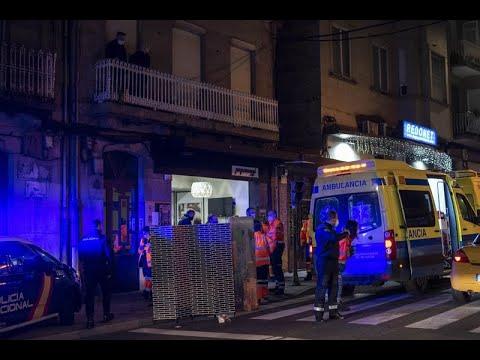 Una mujer de 89 falleció este viernes en el centro de Ourense al sufrir un infarto