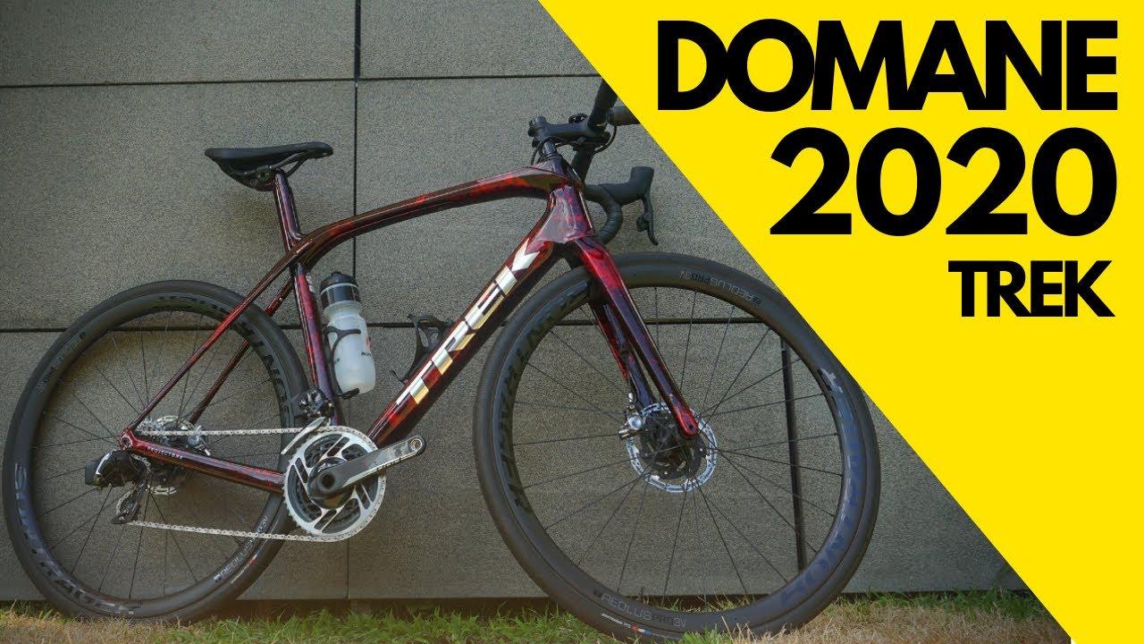 TREK DOMANE SLR 2020: la bicicleta de gran fondo con IsoSpeed y cuadro de  carbono OCLV