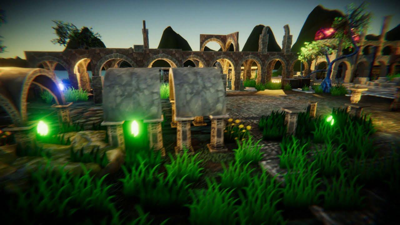 3DModels-Textures: Magic World Platformer