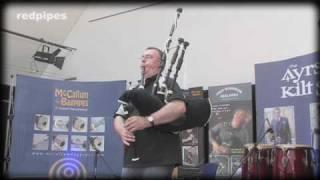 redpipe caledonia -electronic bagpipe