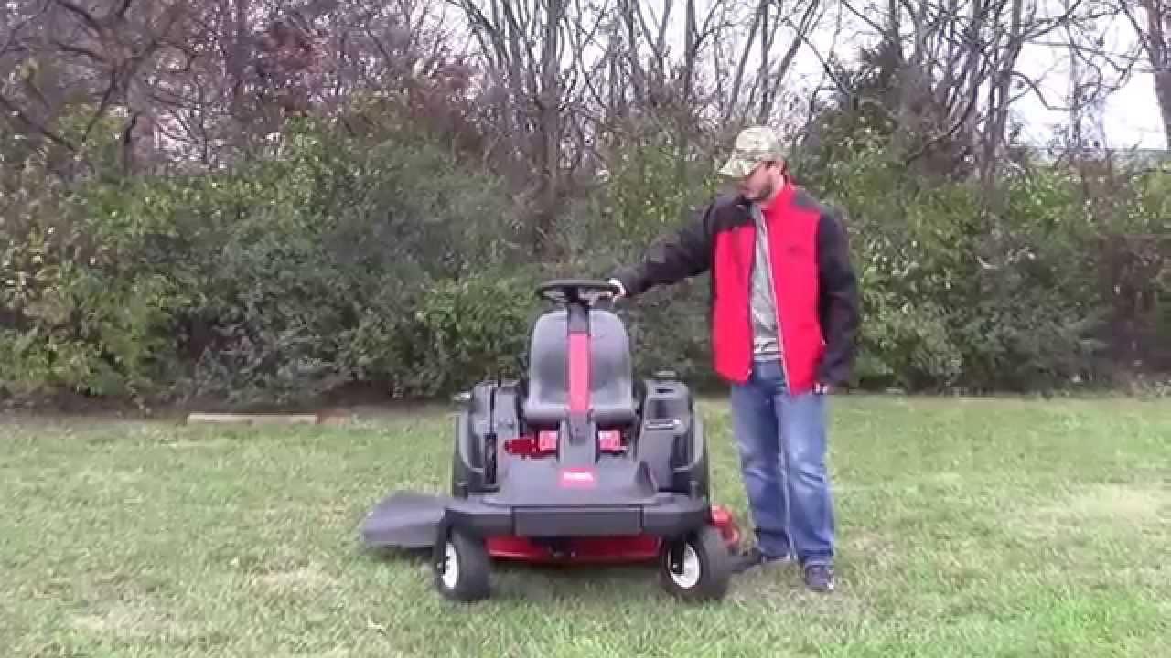 Toro SW TimeCutter Steering Wheel Zero Turn Mower Review