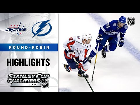 NHL Highlights | Capitals @ Lightning, Round Robin - Aug. 3, 2020