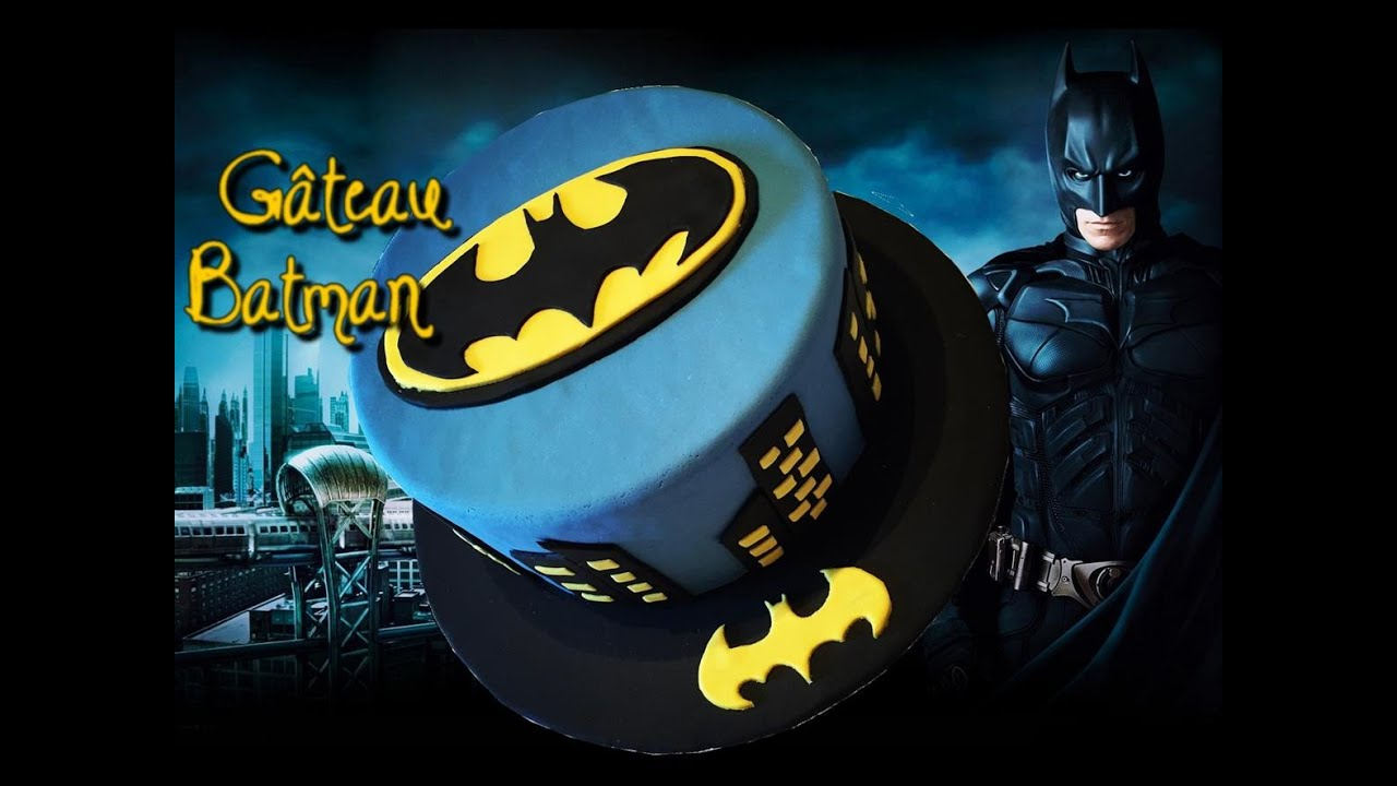G 226 Teau Batman Batman Cake Cake Design Youtube