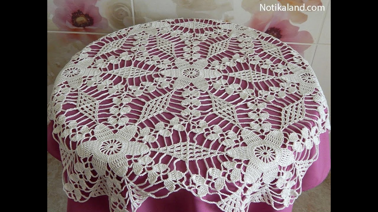 Crochet Motif Patterns For Tablecloth Part 5 How To Join Motifs Diy