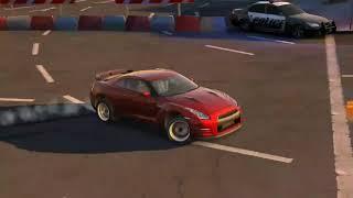 Drifting lifted GTR (carX drift racing)