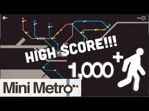 Mini Metro Ep 9 - Melbourne - A HIGH SCORE!!!