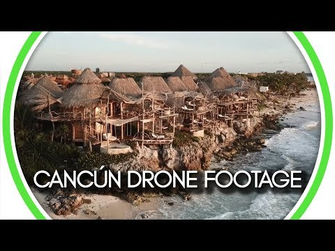 Cancún Drone Footage