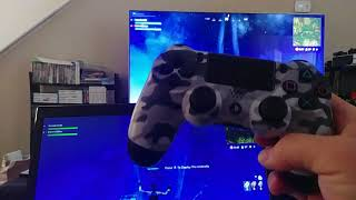 Fortnite battle Royale PS4 PC crossplay still works