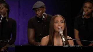 Alicia Keys - Fallin LIVE @ AOL Sessions