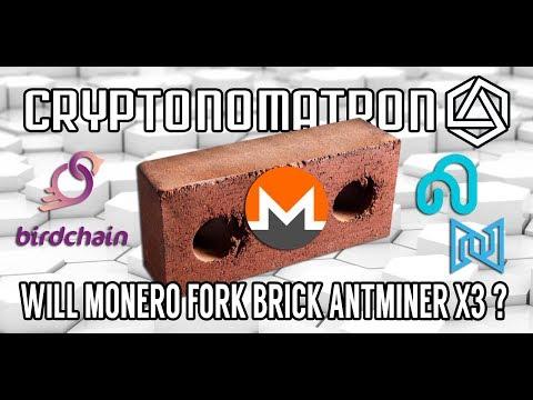 CRYPTO NEWS! Bitmain Antminer X3 CryptoNight Monero Miner!