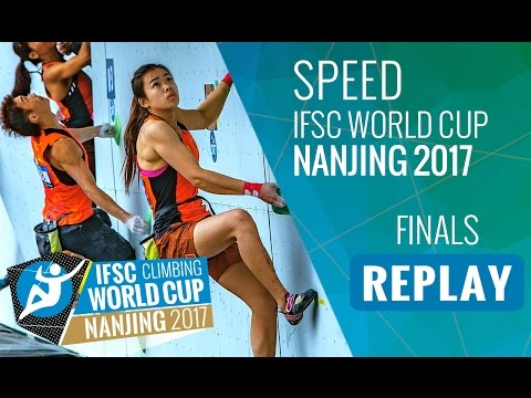 IFSC Climbing World Cup Nanjing 2017 - Speed - Finals - Men/Women