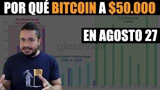 ⭕$50K PRECIO IMÁN de BITCOIN para AGOSTO 27