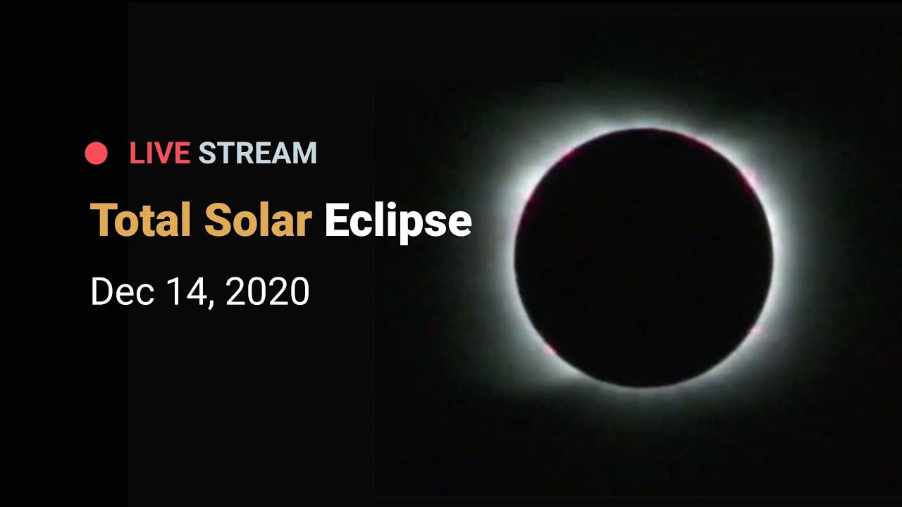 Total Solar Eclipse - December 14, 2020