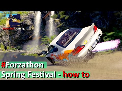 #Forzathon | Spring Festival | Barrel Rolls - no issue | Forza Horizon 3