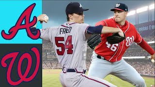 Atlanta Braves vs Washington Nationals Highlights August 8, 2021 - MLB Highlights