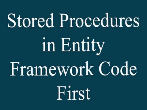 Stored Procedure in Entity Framework Code first and asp net mvc-Part 1